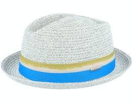 Diamond Toyo Grey Straw Hat - Stetson