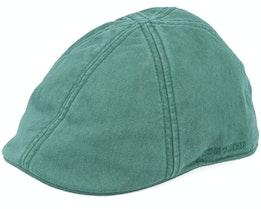Texas Cotton Green Flat Cap - Stetson
