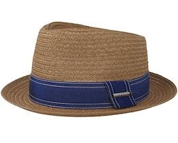Player Hemp Beige Straw Hat - Stetson