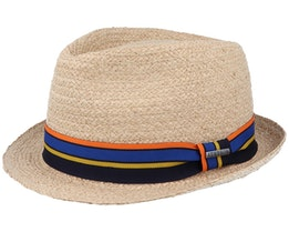 Cantalo Trilby Raffia Natural Straw Hat - Stetson