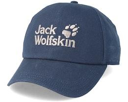 Baseball Cap Night Blue Adjustable - Jack Wolfskin