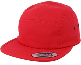 Red 5-Panel - Yupoong