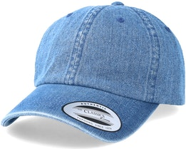 Dad Cap Washed Denim Blue Adjustable - Yupoong