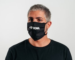 2-Pack Stay Home Black Face Mask - Headzone