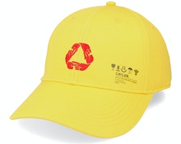 Iconic Peace Curved Yellow Adjustable - Cayler & Sons
