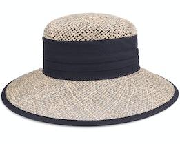 Cloche Seagras Natur Straw Hat - Seeberger