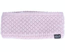 Highloft Knit Women Violet Pearl Headband - Jack Wolfskin