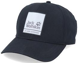 365 Baseball Black Adjustable - Jack Wolfskin