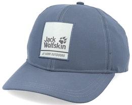 365 Baseball Pebble Grey Adjustable - Jack Wolfskin