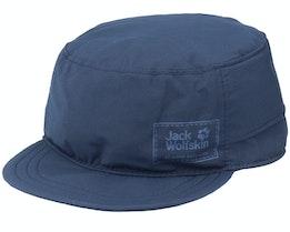 Kids Stow Away Cap Night Blue Army - Jack Wolfskin