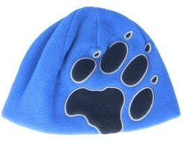 Kids Front Paw Hat Kids Coastal Blue - Jack Wolfskin