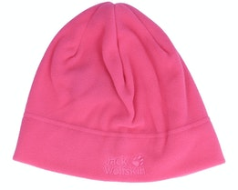 Real Stuff Cap Pink Anemone Beanie - Jack Wolfskin