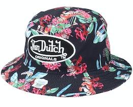 Fishing Hat Poly Tiger Bucket - Von Dutch