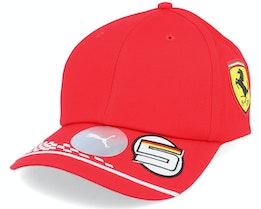 Ferrari Vettel Cap Red Adjustable - Formula One