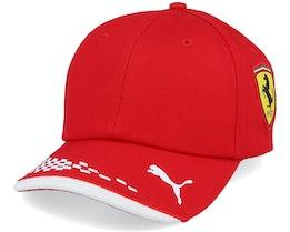 Kids Ferrari Rp Kids Bb Cap Black Adjustable - Formula One