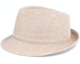 Trilby In Soft Paper Braid Sand Trilby - Seeberger
