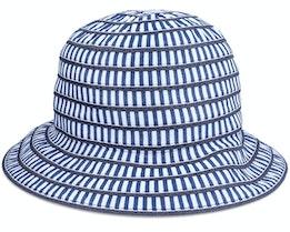 Cloche In Materialmix Swallow Blue Bucket - Seeberger