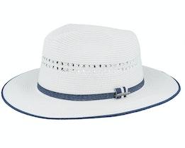 Tiller Toyo White Straw Hat - Stetson