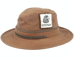 Vintage Wax Brown Traveller - Stetson
