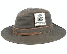 Vintage Wax Dark Brown Traveller - Stetson