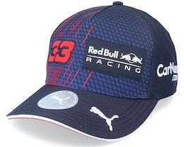 Kids Red Bull Verstappen Bb Cap Navy Adjustable - Formula One