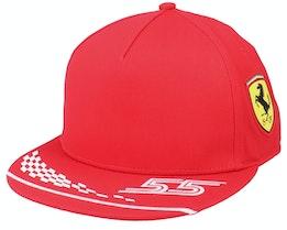 Ferrari Sf Rp Sainz Red Snapback - Formula One