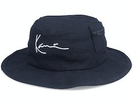 Signature Fisher Hat Black Traveler - Karl Kani