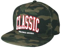 Worldwide Classic Woodland Camo Snapback - Cayler & Sons