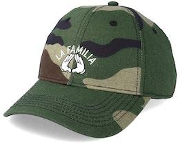 La Familia Curved Camo/Black Adjustable - Cayler & Sons