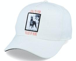 Earlham Techwear Curve Peak White Dog Adjustable - King Apparel