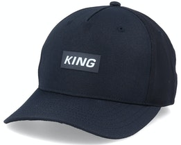 Dalston Curve Peak Black Adjustable - King Apparel