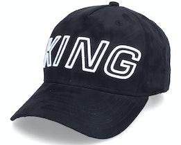Aldgate Curved Peak Black Adjustable - King Apparel
