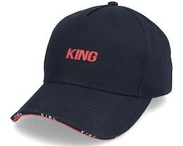 Stepney Curved Peak Black Adjustable - King Apparel