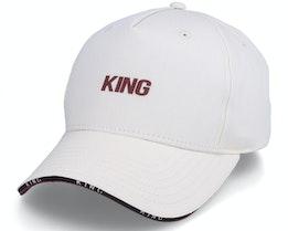 Stepney Curved Peak Cream Adjustable - King Apparel