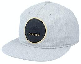 Cotton Snap Back Grey Marl Snapback - SikSilk