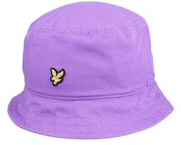 Cotton Twill Hat Amethyst Bucket - Lyle & Scott