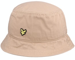 Cotton Twill Hat Tan Bucket - Lyle & Scott