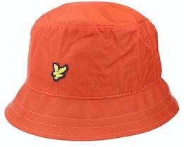 Ripstop Hat W280 Burnt Orange Bucket - Lyle & Scott