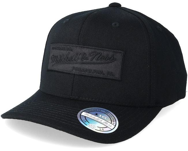 Box Logo Black/Black 110 Adjustable - Mitchell & Ness