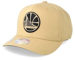Golden State Warriors 110 Sand Adjustable - Mitchell & Ness