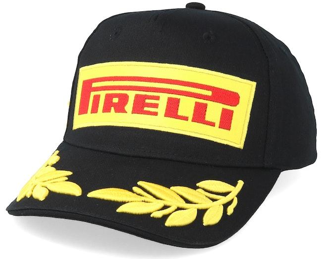 Pirelli Logo Podium Black Adjustable - Formula One