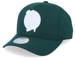 Boston Celtics White Out Green/White 110 Asjustable - Mitchell & Ness