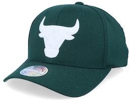 Chicago Bulls White Out Green/White 110 Asjustable - Mitchell & Ness