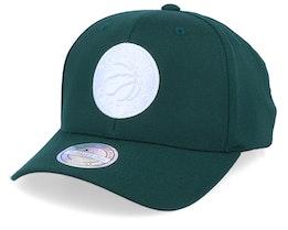 Toronto Raptors White Out Green/White 110 Adjustable - Mitchell & Ness