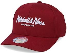 Own Brand Pinscript Cardinal 110 Adjustable - Mitchell & Ness