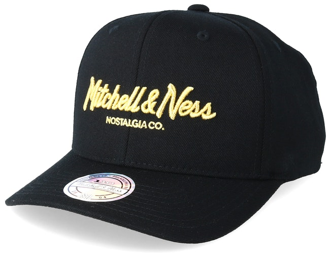 Exclusive Pinscript 110 Black Adjustable - Mitchell & Ness