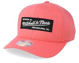Box Logo 110 Coral Adjustable - Mitchell & Ness