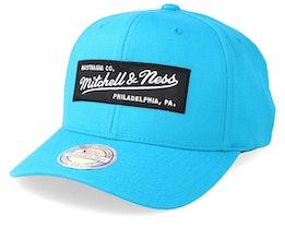 Box Logo 110 Teal Adjustable - Mitchell & Ness