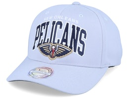 New Orleans Pelicans Team Arch Grey 110 Adjustable - Mitchell & Ness