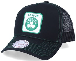 Hatstore Exclusive Boston Celtics Big Patch - Mitchell & Ness